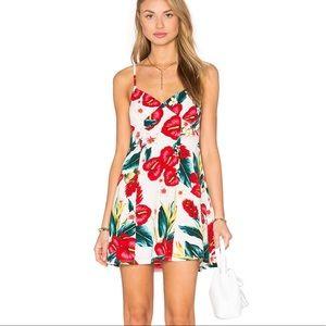 Show Me Your Mumu Winona Mini Dress Floral